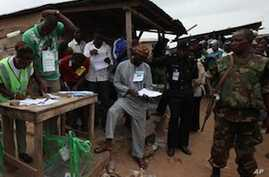 Nigeria Counting Votes From Parlimentary Elections