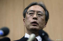 FILE - Junichi Ihara, director-general of Japanese Foreign Ministry's Asian and Oceanian Affairs Bureau.