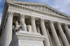 FILE - The U.S. Supreme Court building is seen in Washington, D.C., Feb. 17, 2016.