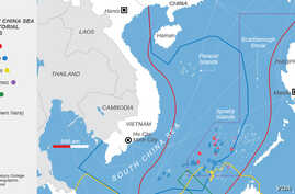 Spratly Islands, China Sea Territorial Claims