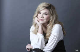 "Grammy Award-winning artist Alison Krauss poses for a portrait in New York to promote her solo album, ""Windy City,"" Feb. 23, 2017."