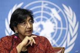 Navi Pillay, United Nations High Commissioner for Human Rights