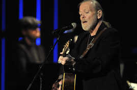 FILE - Gregg Allman performs at the Americana Music Association awards show in Nashville, Tenn., Oct. 13, 2011. Allman died May 27, 2017, at age 69.