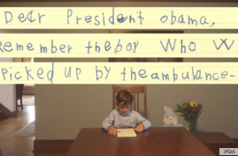 A young American boy's letter to President Obama has gone viral.