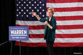 Democratic 2020 U.S. presidential candidate and U.S. Senator Elizabeth Warren (D-MA) speaks to supporters in Memphis, Tennessee, March 17, 2019.