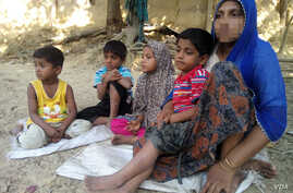 To escape violence in Rakhine state during the military crackdown there, in November 2016, Rohingya woman Haresa Begum fled to Bangladesh with her four children, leaving her husband in Myanmar. A week after this photo was taken at a Rohingya colony i...
