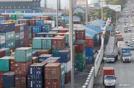 Asia World operates from the Hlaing river port in Yangon, Myanmar, May 14, 2016. The U.S. Treasury Department has barred the company from American business deals.
