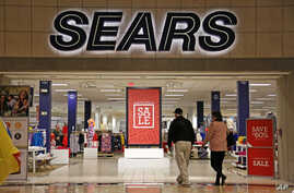 Shoppers walk into a Sears store in Pittsburgh, Pennsylvania, Feb. 8, 2017.