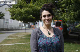 Alanna Irving, who is originally from San Francisco and moved to New Zealand six years ago, poses in Wellington, New Zealand, March 8, 2017.