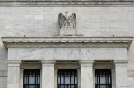 FILE - The Federal Reserve building is pictured in Washington, DC, U.S., Aug. 22, 2018.