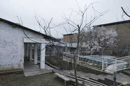 A house in Osh, Kyrgyzstan, belonging to the parents of a man believed to be behind Monday's blast on a subway in St. Petersburg, Russia, April 4, 2017.