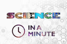 Science in a Minute - logo - square aspect ratio