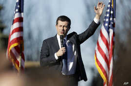 Democratic presidential candidate former South Bend Mayor Pete Buttigieg campaigns Feb. 29, 2020, in Nashville, Tenn.