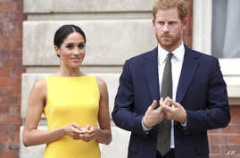 "January 20th 2020 - Buckingham Palace has announced that Prince Harry and Duchess Meghan will no longer use ""royal highness""…"