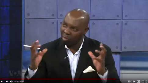Paul Ndiho hosting Shaka: Extra Time