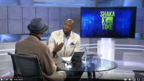 Shaka Ssali and Paul Ndiho in Shaka: Extra Time