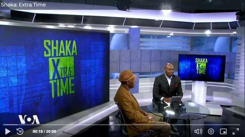 Shaka Ssali with Paul Ndiho on Shaka: Extra Time