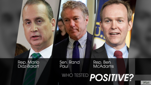 US lawmakers who have tested positive for COVID-19