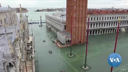 From Venice to Sydney, Extreme Weather Fuels Climate Change Debate