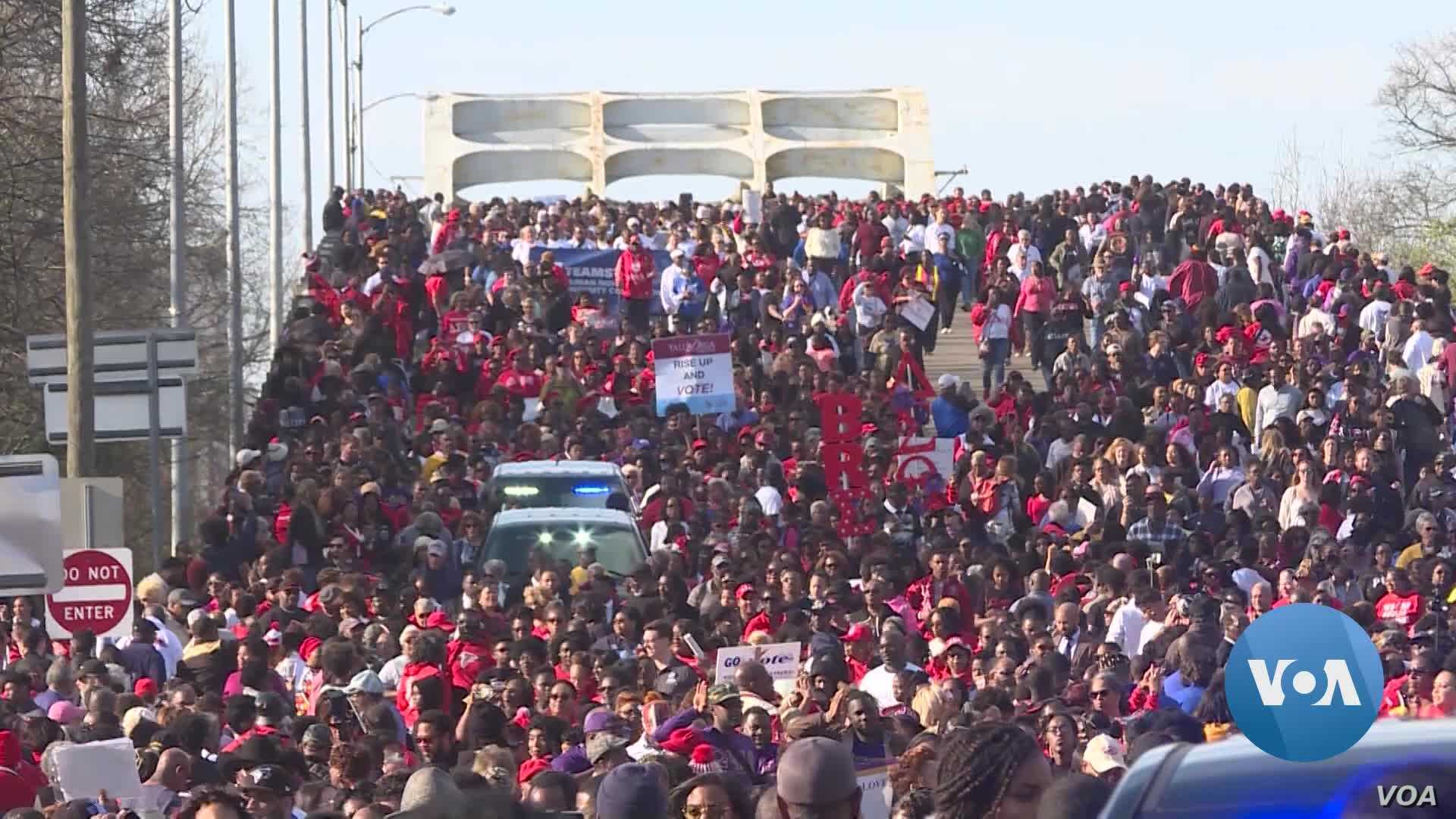 55 Years After 'Bloody Sunday,' Fight to Vote Marches On in Selma