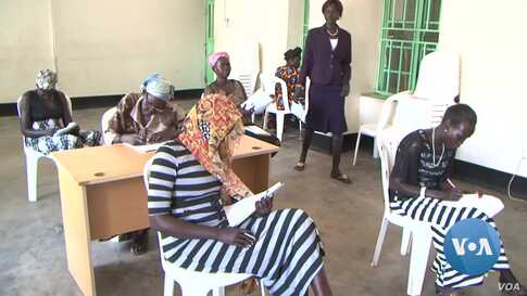 South Sudan Promoting Adult Literacy to Maintain Peace