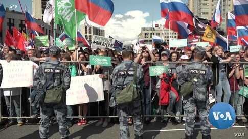 Russian Authorities Harass Opposition Ahead of Key Moscow Elections