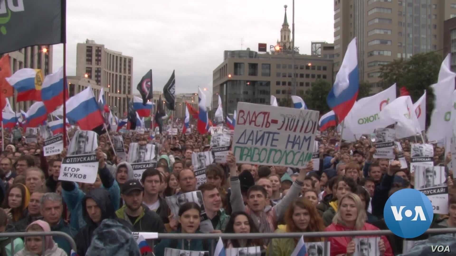 No Longer Apathetic, Russia's Youth Rallies for Change