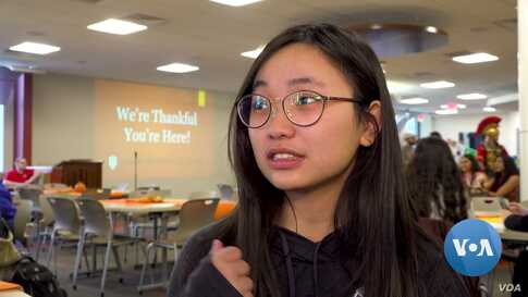 'Thankful You're Here' - Indiana University Hosts International Thanksgiving