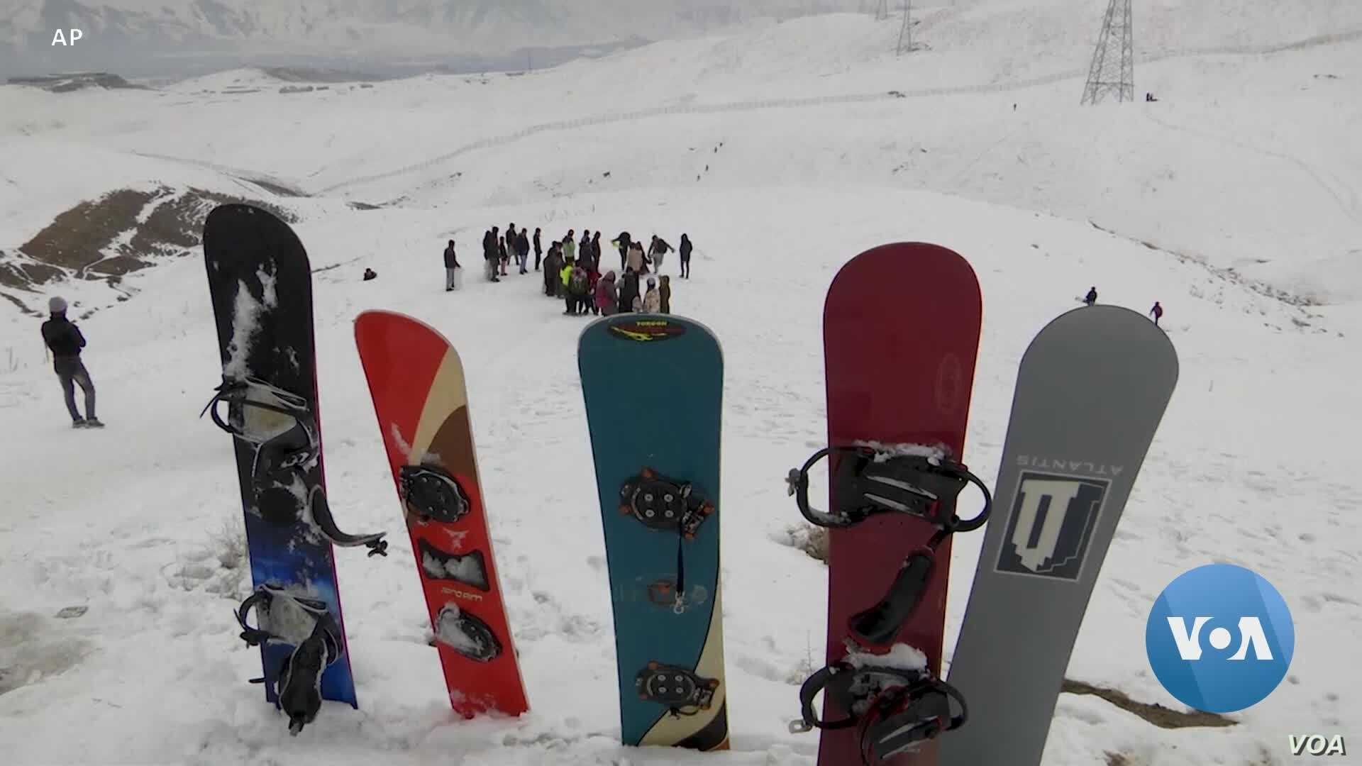 War-Weary Young Afghans Hit the Slopes