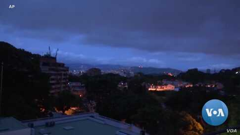 Power Returns to Parts of Venezuela After Outages Plunged Much of the Country into Darkness