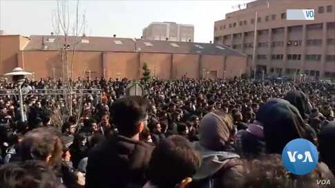 Iranian Police Deny Shooting at Protesters
