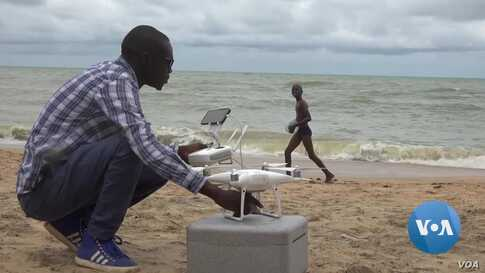 Recycled Refrigerators, Imported Carbon Fiber Used in 'Made-In-Senegal' Drones