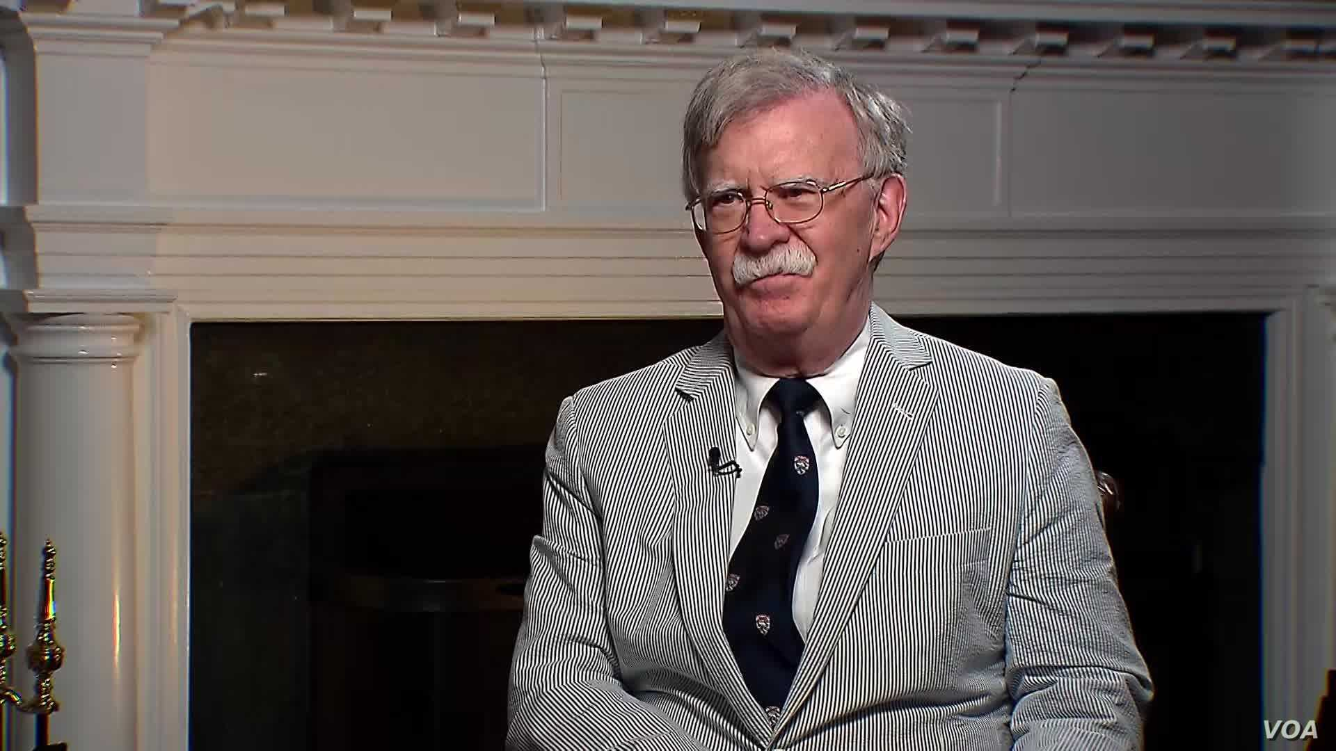 VOA Interview: John Bolton's Take on World's Hotspots