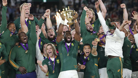 South African Rugby Captain's Win Unites Divided Nation