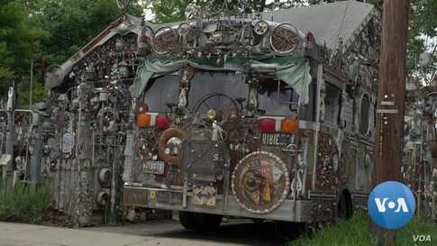 Maryland Gem:  Extravagant Art House Made of Scraps