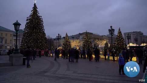 Moscow is a Christmas Wonderland, Minus the Snow