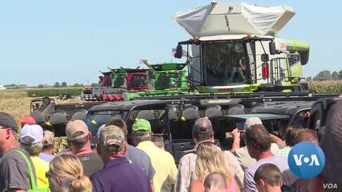 US Farmers Push for United States, Canada, Mexico Trade Agreement