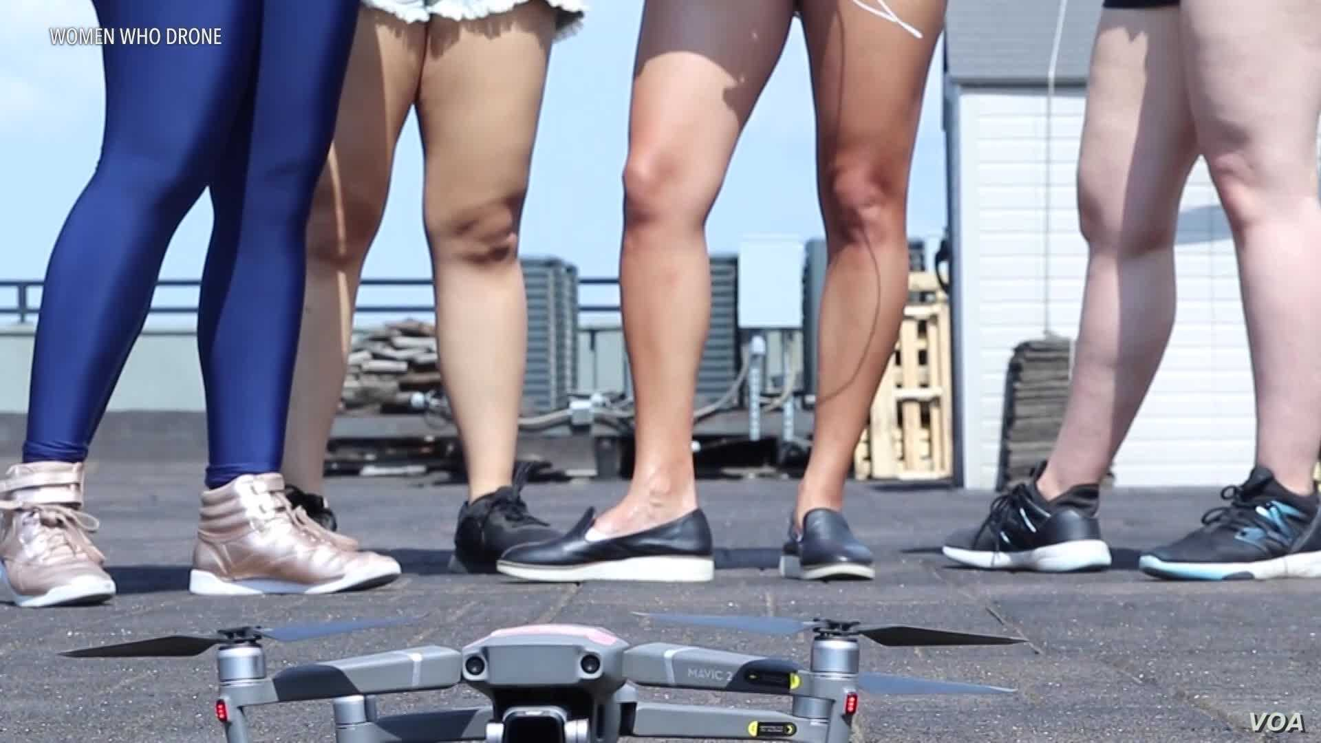 A Female Drone Community Blooms Despite Industry Attempt to Target Men