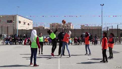 Raqqa Women Revive Basketball Tournament Years After IS
