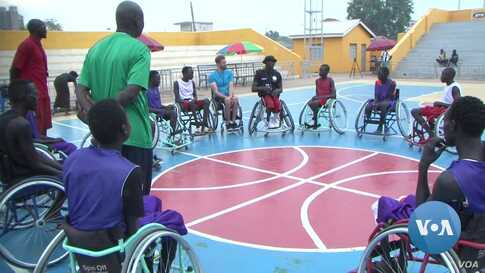 Sudanese-American Player Promotes Wheelchair Basketball in South Sudan