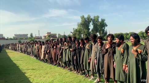 Hundreds of IS Fighters, Families Surrender to Afghan Forces