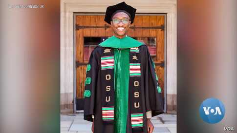 Student's Off-Campus Graduation Ceremony Goes Viral