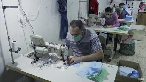 Palestinian Garment Factory Makes Coronavirus Protective Gear for Israel