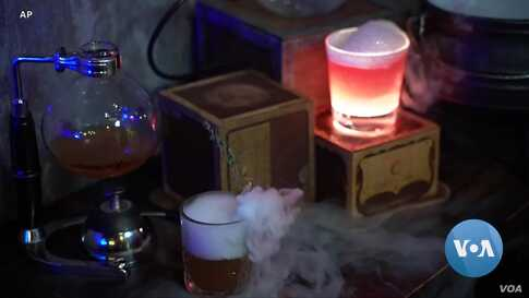 London Bar Teaches Lost Art of Conjuring Witches' and Wizards' Brews
