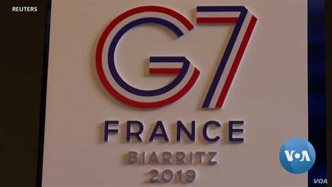 Biarritz Prepares for G-7, Leaders Brace for Trump