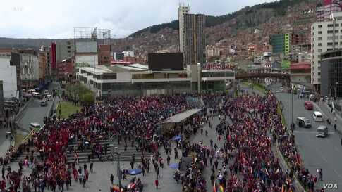 Political Crisis Continues in Bolivia After an Interim President Takes Over