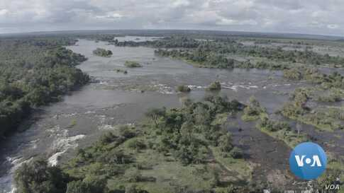 Rains Bring Relief as Water Again Flows Through Zimbabwe's Victoria Falls