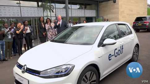 Rwanda Government Pushes Electric Cars, Bikes