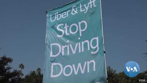California Debates Future of Uber, Lyft Drivers