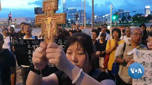 Fearing Crackdown, Christians at Forefront of Hong Kong Protests